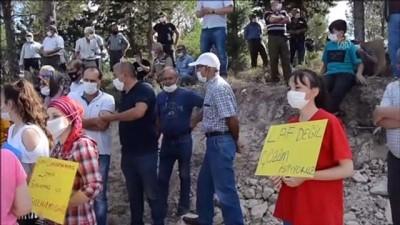 Soma'da mahalle sakinlerinden su eylemi - MANİSA