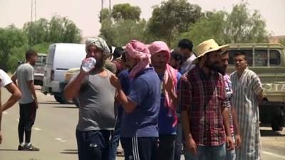 alabalik - Tunus'un Tatavin ilindeki gösteride, Cumhurbaşkanı Said'den 'iadeiitibar' talep edildi