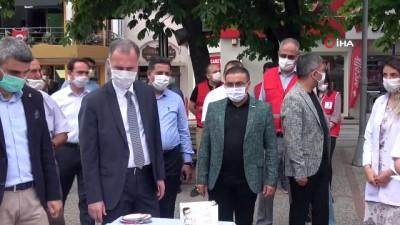 alabalik -  İnegöl Belediyesi'nden 'Maske tak, örnek ol' etkinliği
