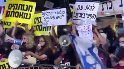 - İsrail'de binlerce protestocu, yolsuzlukla suçlanan Netanyahu'nun istifasını istedi