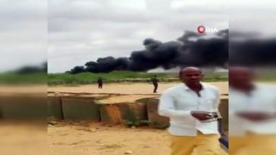 - Somali'de yardım taşıyan kargo uçağı düştü