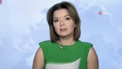 - Ukraynalı spiker haber sunarken dişi yerinden çıktı