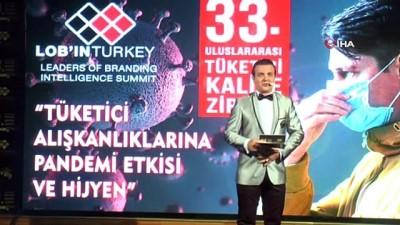 33. Uluslararası Tüketici Kalite Zirvesi Ödülleri sahiplerini buldu