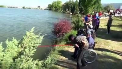 odul toreni -  Kütahya'da 'Engel tanımıyor, balık tutuyorum' etkinliği