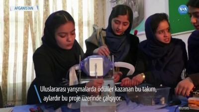 Afgan Kız Robot Takımı Yine İş Başında