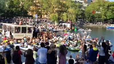 - Berlin'de yeşil alanların açık hava partilerine tahsis edilmesi gündemde