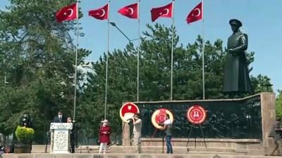 sivil toplum kurulusu - Erzurum Kongresi'nin 101. yıl dönümü törenle kutlandı