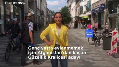 Mehdiye Kerimi: Genç yaşta evlenmemek için Afganistan'dan kaçan Güzellik Kraliçesi adayı