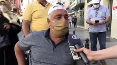 cuma namazi - Ayasofya-i Kebir Camii'nin açılışına tanıklık eden vatandaşlar sevinçlerini paylaştı - İSTANBUL