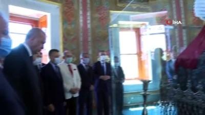 cuma namazi -  Cumhurbaşkanı Erdoğan, Fatih Sultan Mehmet Han'ın türbesini ziyaret etti