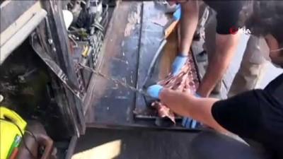 Gümrük Muhafaza ekiplerinden kara gümrük kapılarında dev uyuşturucu operasyonu
