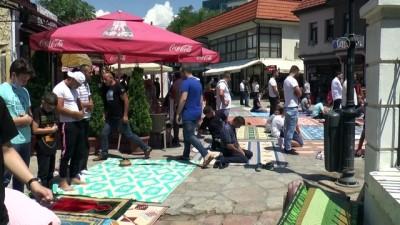 cuma namazi - Kuzey Makedonya'da Ayasofya-i Kebir Cami-i Şerifi için şükür secdesi yapıldı - ÜSKÜP