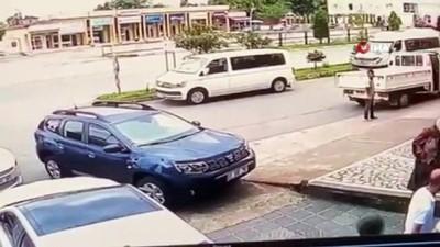 nayet zanlisi -  Araç park etme meselesi nedeniyle yaşanan cinayetin görüntüleri ortaya çıktı