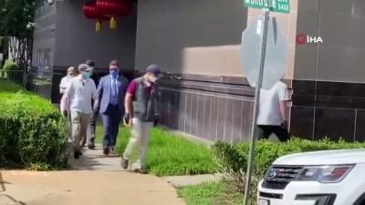 - Çinli diplomatlar başkonsolosluk binasını boşalttı