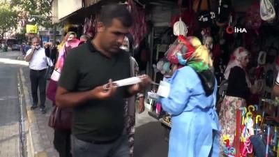 Maske takmayan vatandaşların ceza korkusu