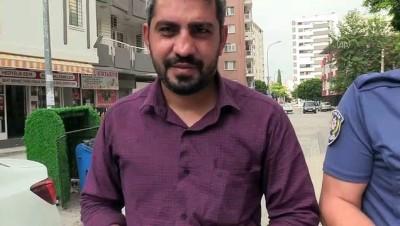 Görme engelli genci sınava polis ekipleri yetiştirdi - ADANA