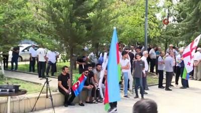 - Gürcistan'daki Türklerden Azerbaycan'a destek mitingi