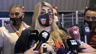 Maçın ardından -  Kayserispor Kulübü Başkanı Gözbaşı ve Kulüp asbaşkanı ve basın sözcüsü Tokgöz - KAYSERİ