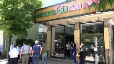 Battalgazi'de kadın kooperatifi kafe market açılışa hazır