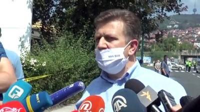 protesto - Bosna Hersek Bağımsız Sendikalar Birliğinden protesto - SARAYBOSNA