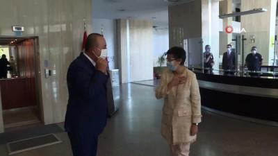 ispanya -  Dışişleri Bakanı Çavuşoğlu, İspanyol mevkidaşı ile görüştü