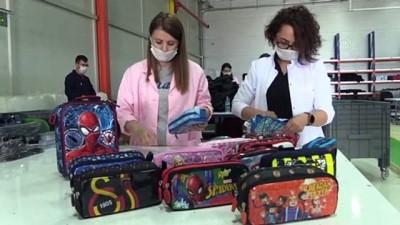 ingiltere - Dünya markası çantalar Amasya'da üretiliyor