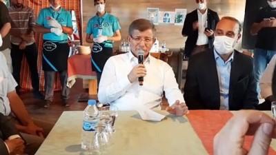 sivil toplum kurulusu - Gelecek Partisi Genel Başkanı Davutoğlu, Ardahanlılarla bir araya geldi