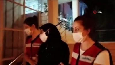 DEAŞ'lı kadın terörist Bursa'da yakalandı