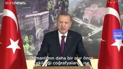 euronews - Erdoğan: Tarihi eserleri korumada Batılı hiçbir devletin Türkiye'ye söz söyleme hakkı yok
