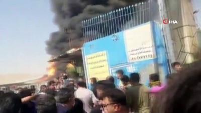 - İran'da yakıt tankerlerinde büyük yangın
