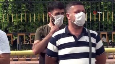 protesto -  Petrol arama şirketinde 20 işçinin işten çıkarıldığı iddiası