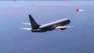- Rus savaş uçağı, Karadeniz üzerinde uçuş yapan ABD uçağını uzaklaştırdı