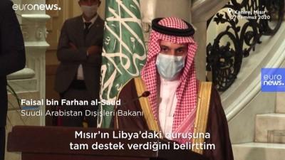 euronews - Suudi Arabistan'dan Mısır'a Libya desteği