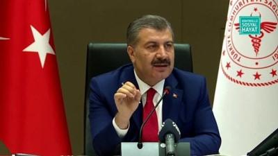 Bakan Koca: 'Milli Eğitim Bakanımız 31 Ağustos olarak açıkladı. Okullar bu takvimde eğitime başlamış olacak' - ANKARA