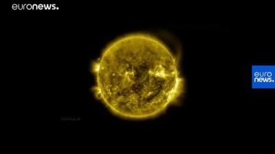 euro - NASA, Güneş'in 425 milyon fotoğrafını 60 dakikaya sığdırdı