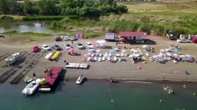 Ahlat kıyıları su sporu etkinlikleriyle renkleniyor - BİTLİS