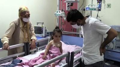 Arı sokması nedeniyle yoğun bakıma alınan Rabia hayata tutundu - MALATYA