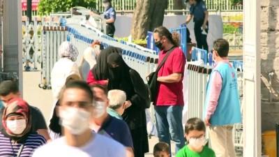 Ayasofya-i Kebir Cami-i Şerifi'nde arife günü yoğunluğu - İSTANBUL