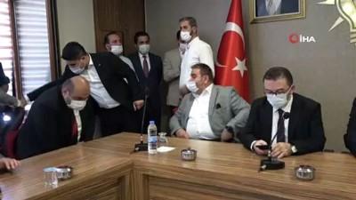 Bakan Karaismailoğlu, Erzurum AK Parti İl Başkanlığı'nı ziyaret etti