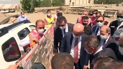 Bakan Karaismailoğlu, Palandöken Lojistik Merkezi'nde inceleme bulundu - ERZURUM