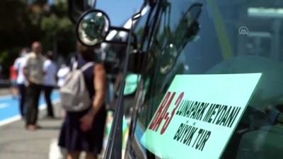 sili - Büyükada'da elektrikli araç seferleri başladı - İSTANBUL