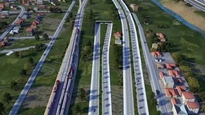 'En uzun demir yolu tüneli'nde çalışmalar hızla sürüyor - GAZİANTEP/OSMANİYE