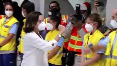 ispanya - İspanyol sağlık ekibi Kovid-19 ile mücadeleye destek vermek amacıyla El Salvador'a geldi