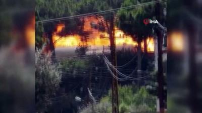 - Lübnan'da parfüm fabrikasında yangın:  5 yaralı