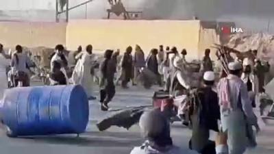 protesto -  - Pakistan-Afganistan sınırındaki protestolarda 4 kişi öldü, 20 kişi yaralandı