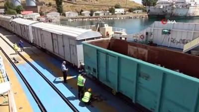 strateji -  Türkiye'nin en büyük feribotları Orta Asya ve Türki Cumhuriyetlere yük akışı sağlıyor