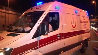 Zeytinburnu'nda 'makas atma' zincirleme kazayla bitti: 1'i ağır 4 yaralı