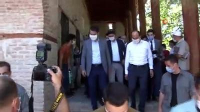 sehit -  Bakan Kurum Konya'da ziyaretlerde bulundu