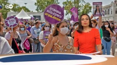 protesto - DW Haber - 31.07.2020