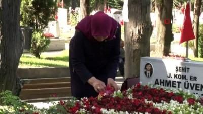 sehit -  Edirnekapı Şehitliği'nde hüzünlü bayram